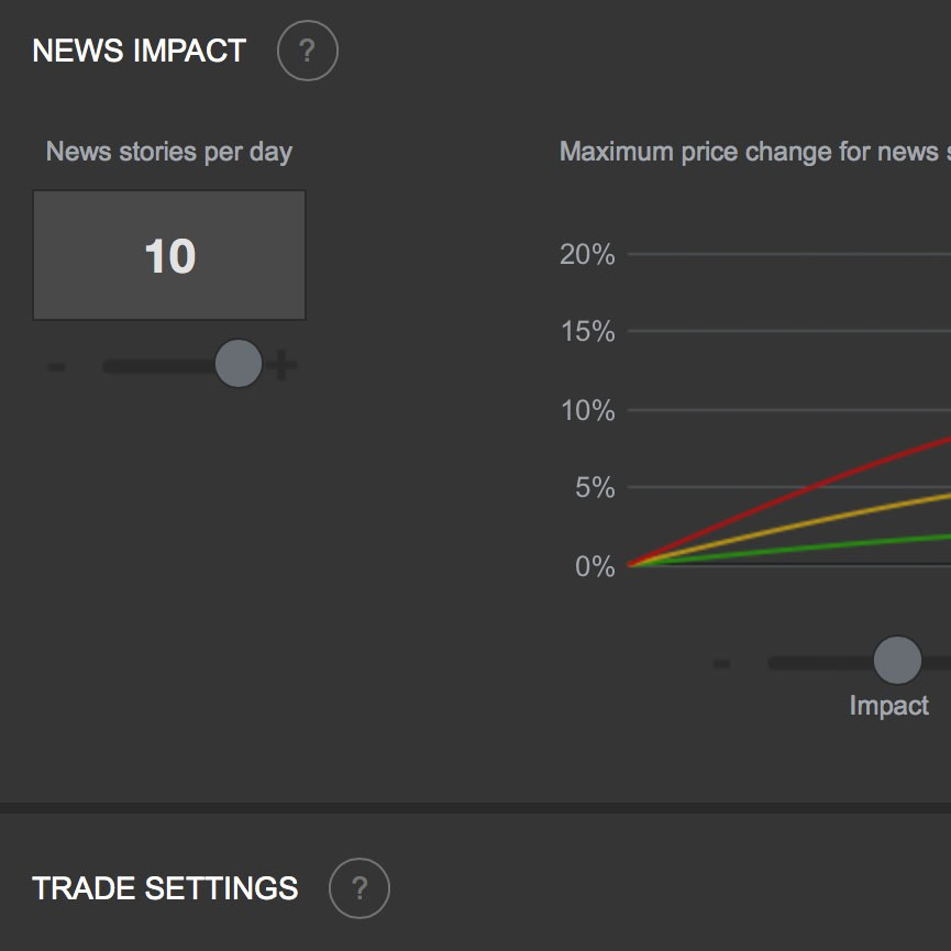 A multi-player Stock Market simulation > Work — Float